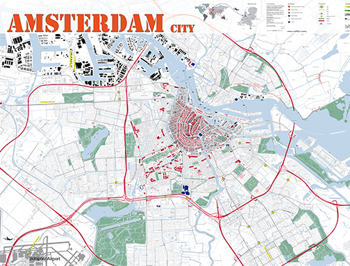 Amsterdam Tourist – Tourist Map Of Amsterdam
